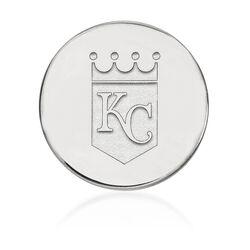 14kt White Gold MLB Kansas City Royals Lapel Pin, , default