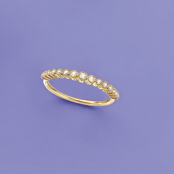 .20 ct. t.w. Graduated Diamond Ring in 14kt Yellow Gold, , default