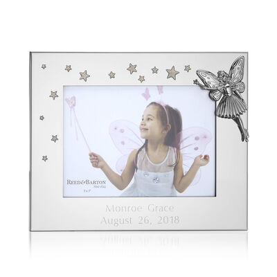 "Reed & Barton ""Fairy Princess"" 5x7 Photo Frame, , default"