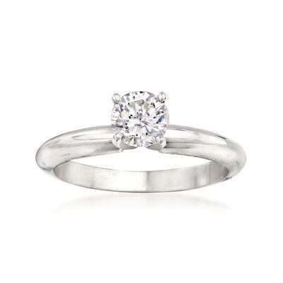 .57 Carat Diamond Engagement Ring in 14kt White Gold