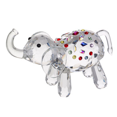 "Judith Ripka ""Gemstone"" Crystal Elephant Figurine"