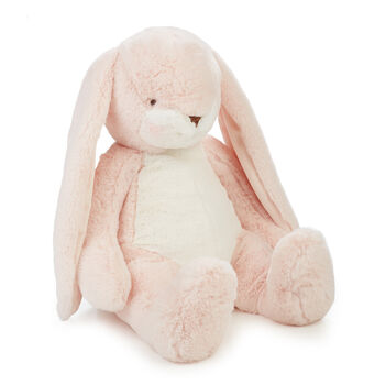 """Bunnies by the Bay Big Nibble 20"""" Plush Bunny - Pink"""