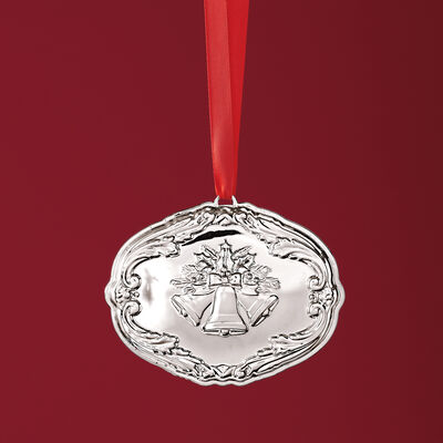 "Reed & Barton 2018 Annual ""Francis 1st Songs of Christmas"" Sterling Silver Ornament - 16th Edition, , default"