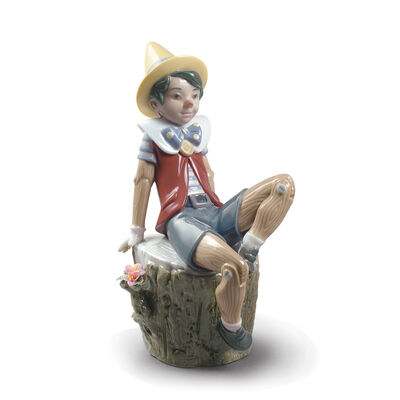"Lladro ""Pinocchio"" Porcelain Figurine, , default"