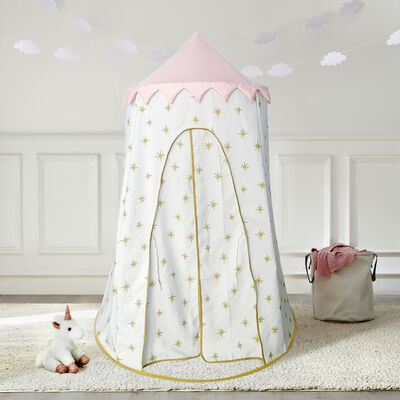 Child's Gold Starburst Pop-Up Play Tent