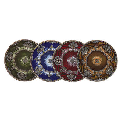 Jeweled Floral Coaster