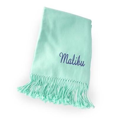 Seafoam Green Ultra-Soft Throw Blanket, , default