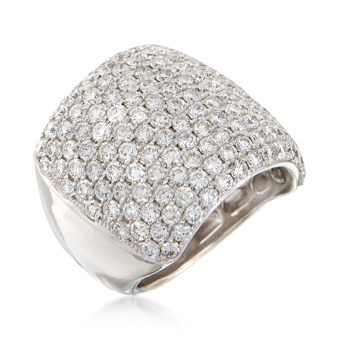 4.70 ct. t.w. Diamond Wide Ring in 18kt White Gold