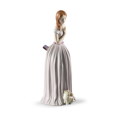 """Lladro """"I'Ll Walk You to the Party"""" Porcelain Figurine, , default"""