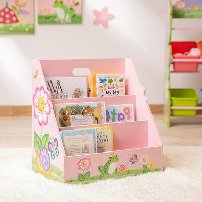 "Child's ""Magic Garden"" Wooden Bookshelf"