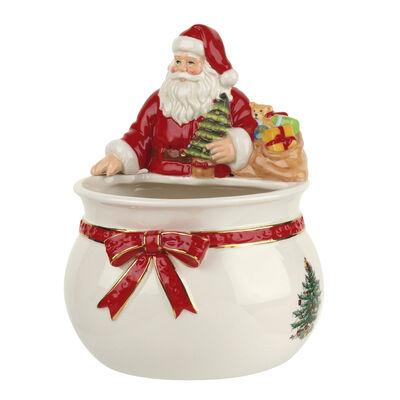 "Spode ""Christmas Tree"" Santa Candy Bowl"