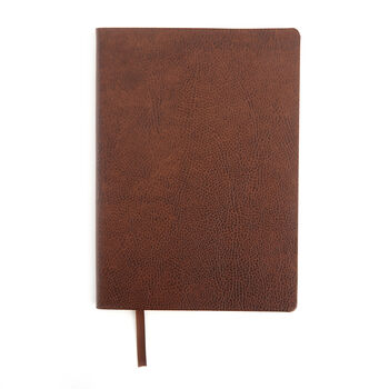 Royce Timber Leather Three-Initial Slim Journal, , default