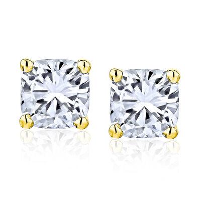 2.90 ct. t.w. Diamond Stud Earrings in 14kt Yellow Gold, , default