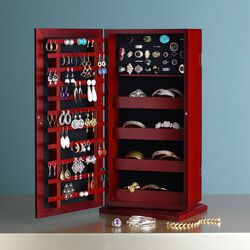 """Safekeeper"" Spinning Jewelry Organizer, , default"