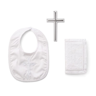 Elegant Baby Boy's 3-pc. Christening Gift Set
