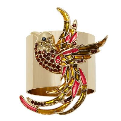 Joanna Buchanan Set of 2 Joyful Bird Napkin Rings, , default