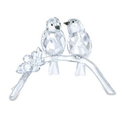 Swarovski Crystal White-Eye Birds Figurine, , default