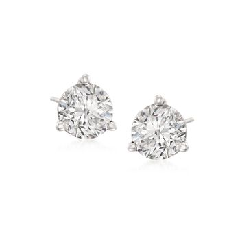 1.50 ct. t.w. Diamond Martini Stud Earrings in Platinum, , default