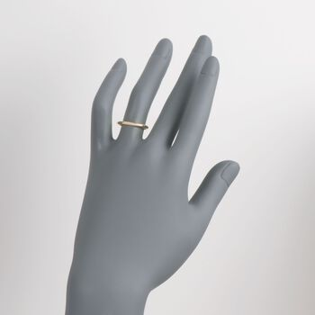 Women's 2mm 14kt Yellow Gold Wedding Ring, , default