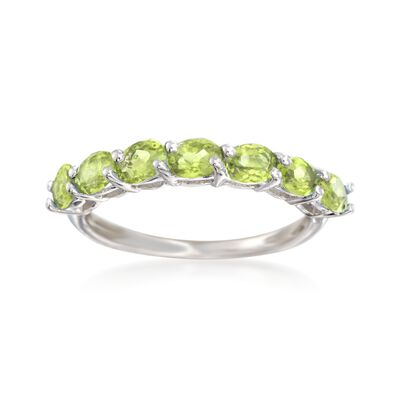 1.30 ct. t.w. Peridot Ring in Sterling Silver, , default
