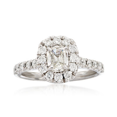 Henri Daussi 1.29 ct. t.w. Diamond Engagement Ring in 18kt White Gold, , default