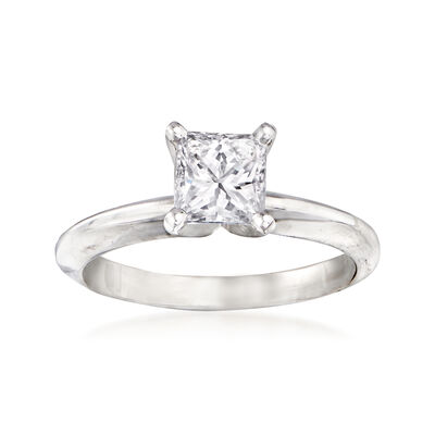 .90 Carat Diamond Engagement Ring in 14kt White Gold