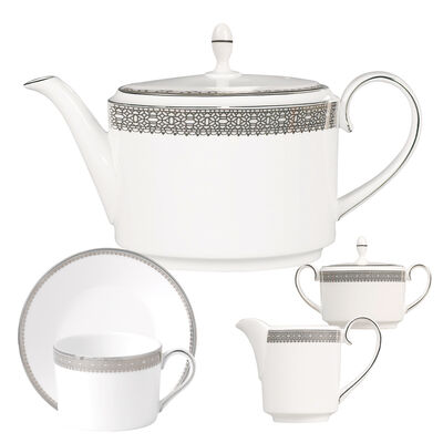 "Vera Wang for Wedgwood ""Lace"" Tea Service"