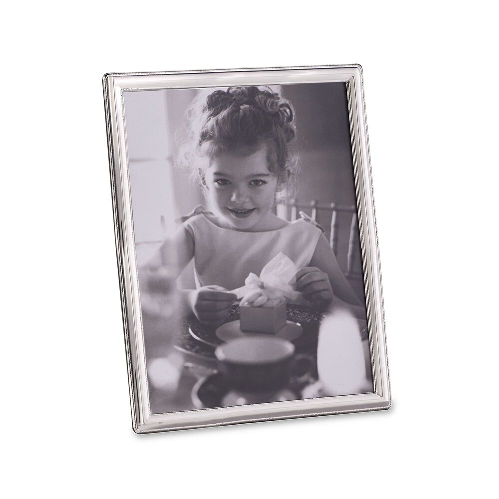 Siena Sterling Silver Roped Photo Frame With Wooden Back Ross Simons