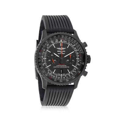 Breitling Navitimer 01 46mm Black Stainless Steel Watch, , default