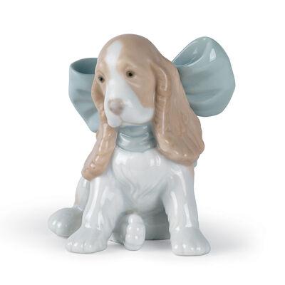 "Nao ""Puppy Present"" Porcelain Figurine, , default"