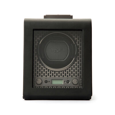 "Wolf ""Axis"" Powder-Coated Steel Single Watch Winder, , default"