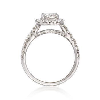 Henri Daussi 2.80 ct. t.w. Diamond Engagement Ring in 18kt White Gold, , default