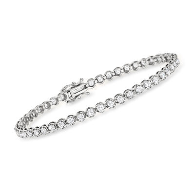 3.00 ct. t.w. Diamond Tennis Bracelet in 14kt White Gold