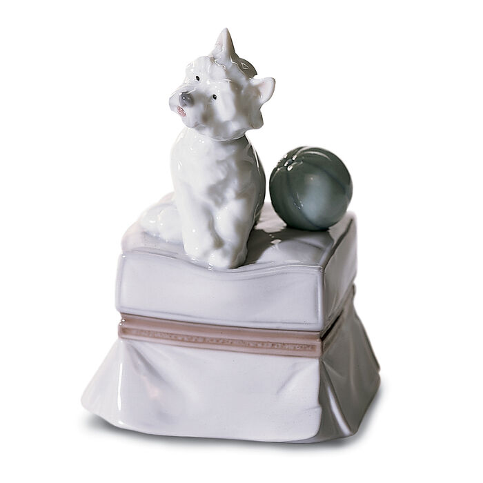 "Lladro ""My Favorite Companion"" Porcelain Figurine"