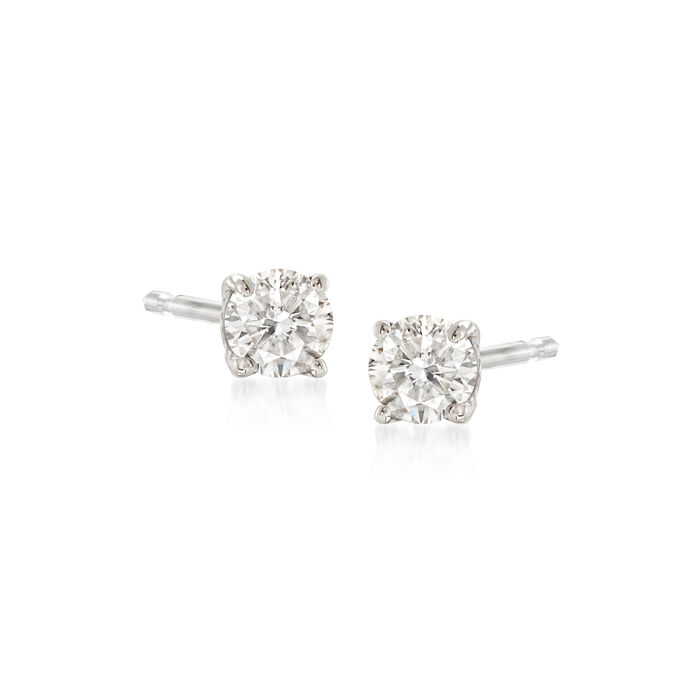.25 ct. t.w. Diamond Stud Earrings in 14kt White Gold, , default