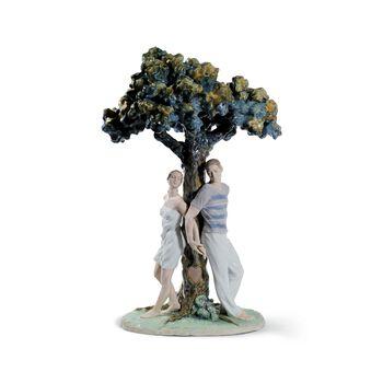 "Lladro ""The Tree of Love"" Porcelain Figurine, , default"