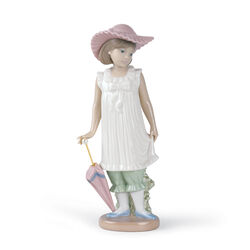 "Nao ""April Showers"" Porcelain Figurine , , default"