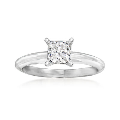 .72 Carat Certified Diamond Solitaire Ring in 14kt White Gold