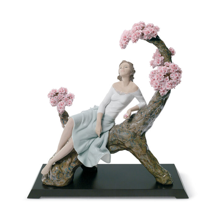 "Lladro ""Sweet Scent of Blossoms"" Porcelain Figurine, , default"