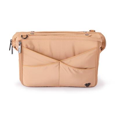 Pursen Littbag Lighted Nude Nylon Purse Organizer, , default