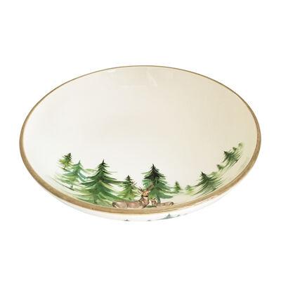 "Abbiamo Tutto Italian ""Woodlands"" Ceramic Serving Bowl, , default"