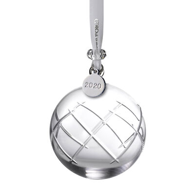 "Waterford Crystal ""Short Stories Olann"" 2020 Ball Ornament"