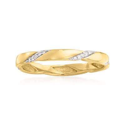 .10 ct. t.w. Diamond Eternity Band in 14kt Yellow Gold