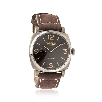 Panerai Radiomir 1940 3 Days Men's 45mm Automatic Titanium Watch, , default
