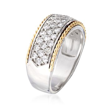 1.00 ct. t.w. Diamond Ring in 14kt Two-Tone Gold, , default