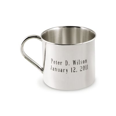 Reed & Barton Baby's Sterling Silver Personalized Cup, , default