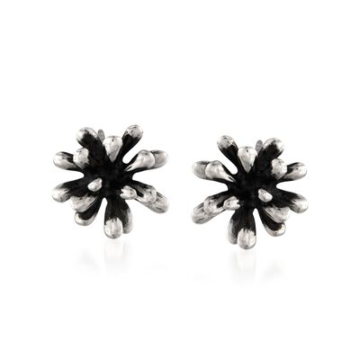 "Zina Sterling Silver ""Fireworks"" Earrings"