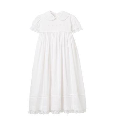 Elegant Baby Girl's Christening Gown, , default