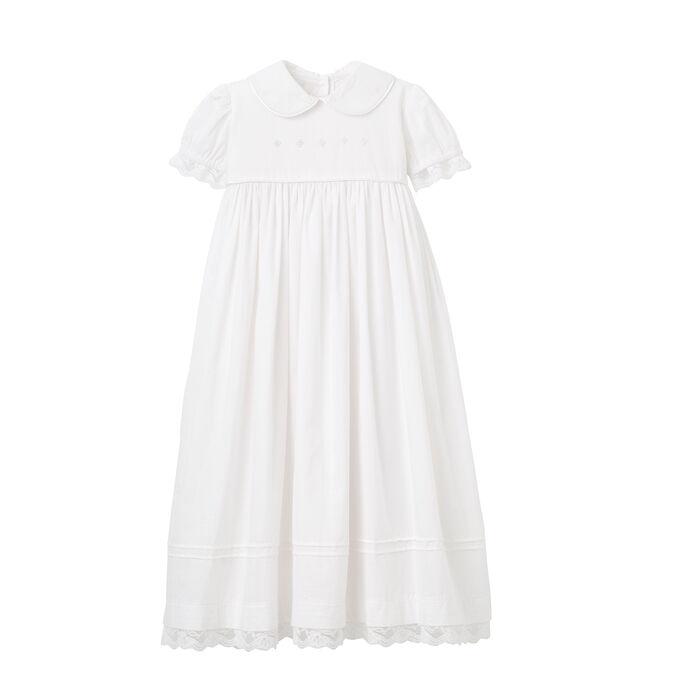 Elegant Baby Girl's Christening Gown