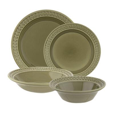 """Portmeirion """"Botanic Garden Harmony"""" Moss Green Dinnerware"""